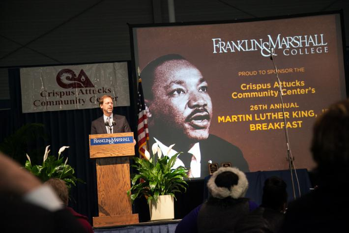 Photo Courtesy of F&M News (see: http://www.fandm.edu/news/article/celebrating-the-life-and-words-of-martin-luther-king-jr)