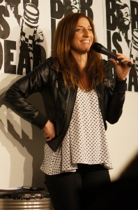 Chelsea Peretti, comedian, takes advantage of several media outlets.