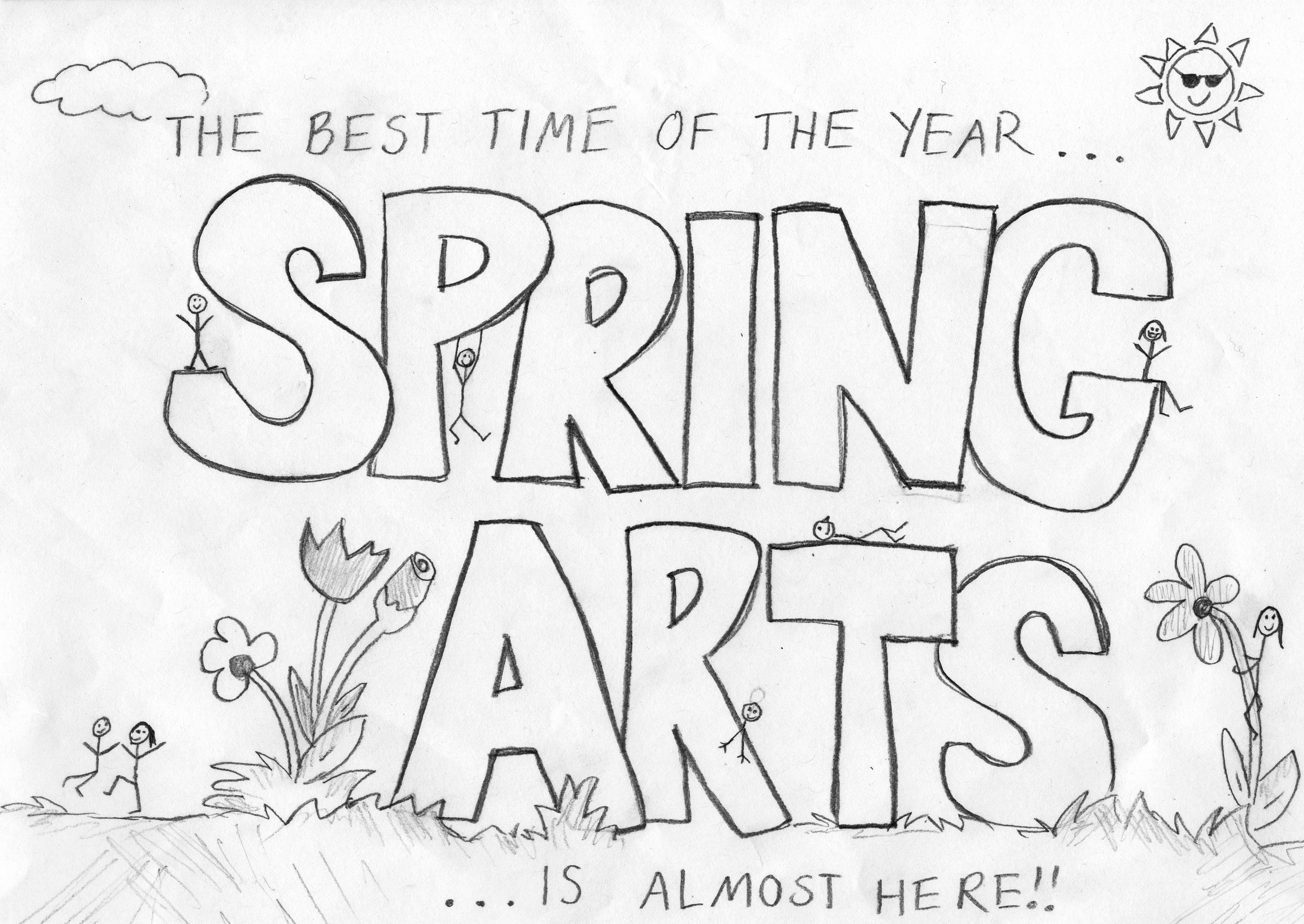 TCR spring arts