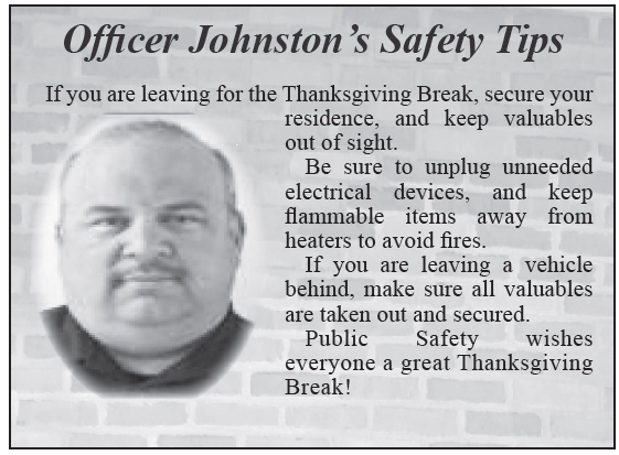 TCR 11-24-14 Safety Tip