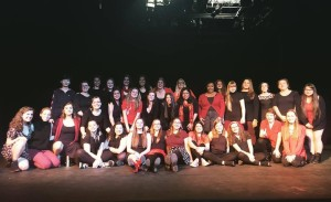V-Warriors presented The Vagina Monologues this past weekend. The group set a fundraising goal of $3000 for Clare House, a shelter for homeles women located in downtown Lancaster. The show celebrates female sexuality and encourages discourse.