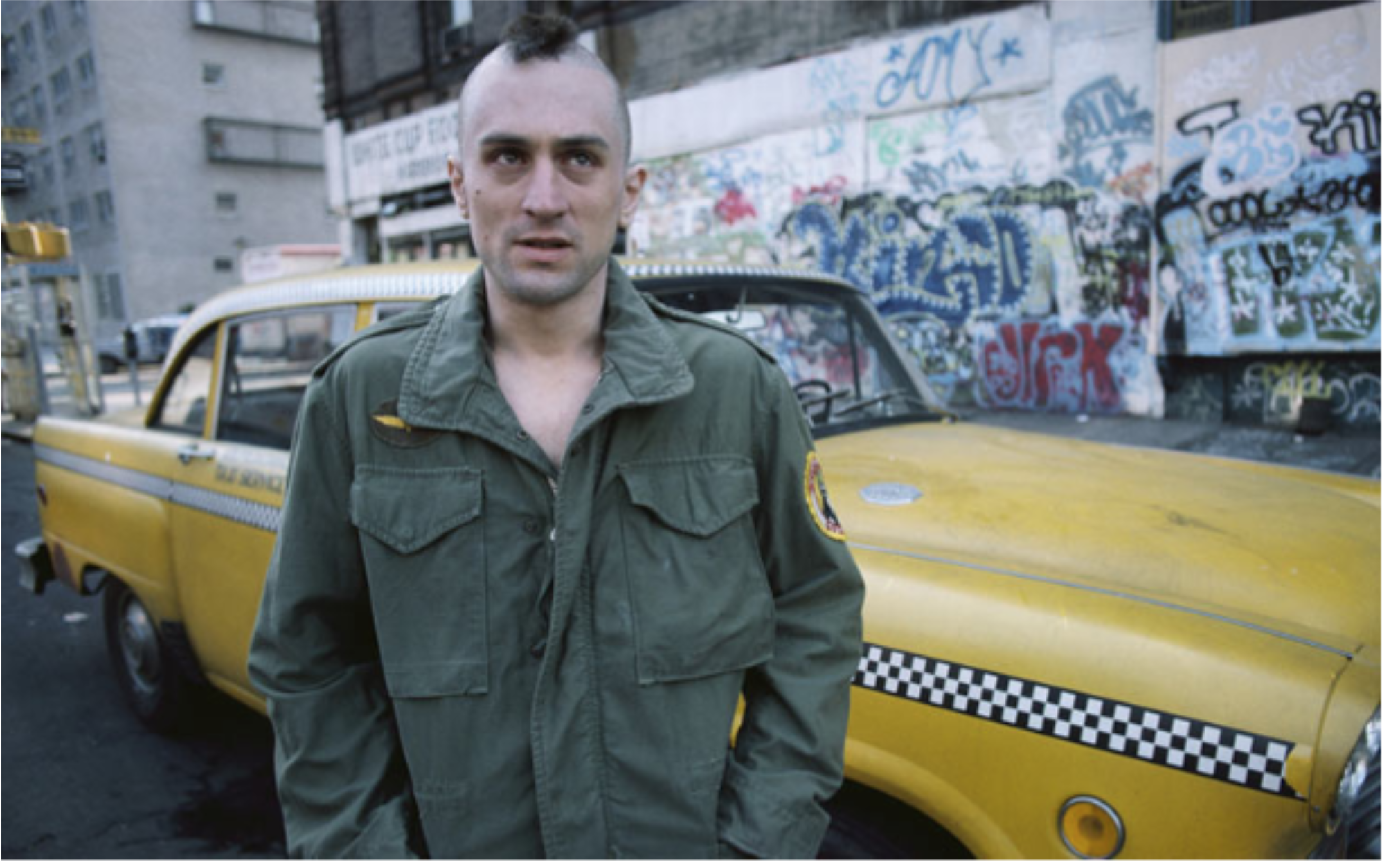 Staff Writer Reviews Taxi Driver Film Released In 1976 Starring Robert Deniro The College Reporter